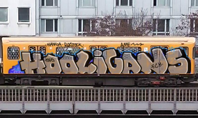 Graffiti Unlimited - Bombing of Underground Train in ...